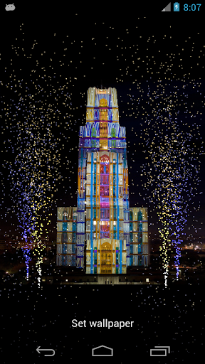 Cathedral Lights LiveWallpaper
