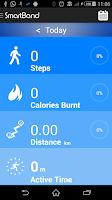 Screenshot of SmartBand