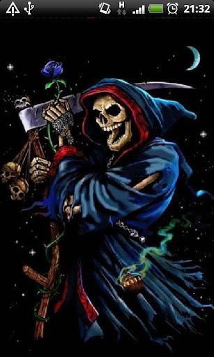 Blue Grim Reaper LWP