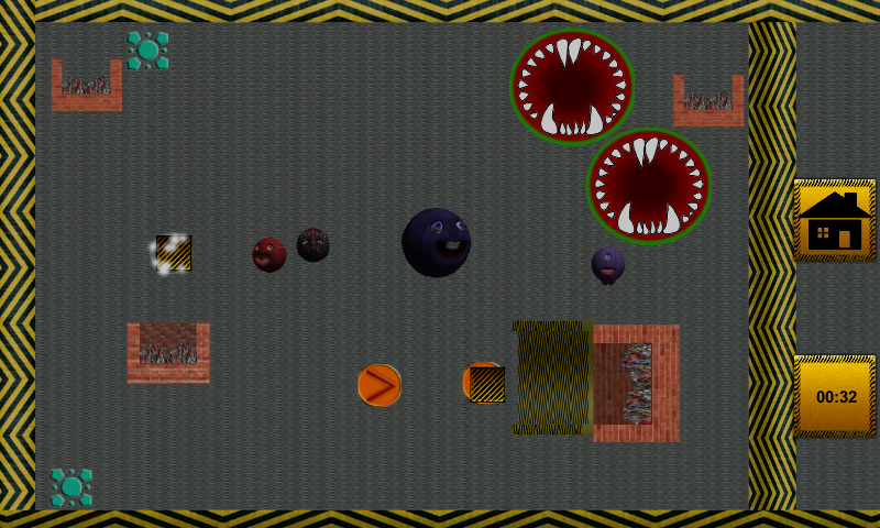 Hungry Monster Balls - screenshot