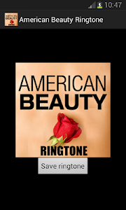 American Beauty Ringtone screenshot 0