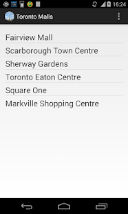Toronto Mall Directory- screenshot thumbnail