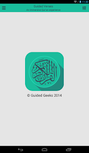 Quran - Guided Verses- screenshot thumbnail