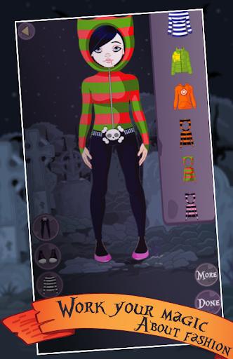 【免費模擬App】Dress Up Game Vampire Punkette-APP點子