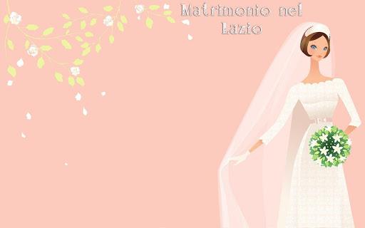 Matrimonio Lazio