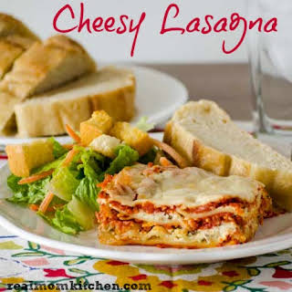 Cheesy Lasagna No Sauce Recipes.