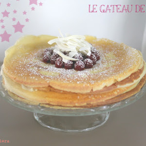 The Coconut-Raspberry Pancakes