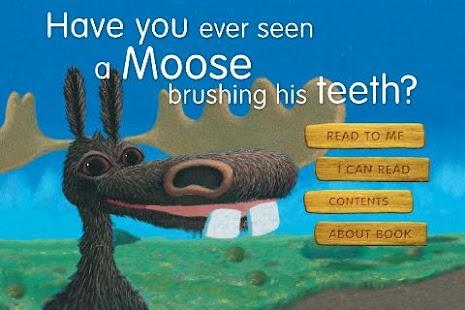 Moose brushing his teeth- screenshot thumbnail