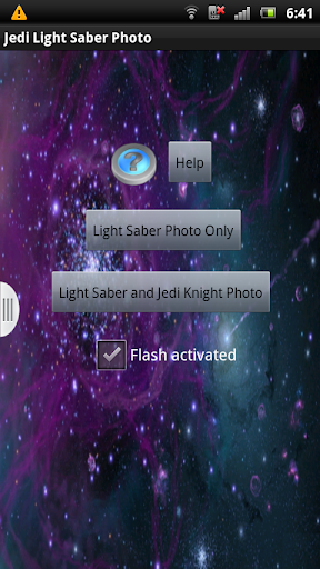 Jedi Light Saber Photo