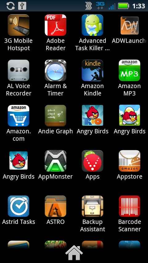 Droid Genesis Launcher Theme - screenshot