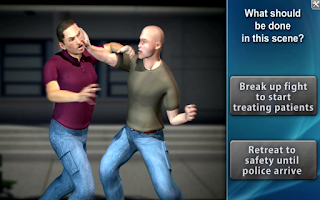 Screenshot of Medrills: Scene Size-Up