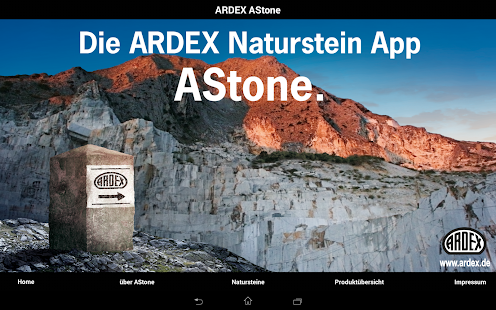 ARDEX AStone- screenshot thumbnail