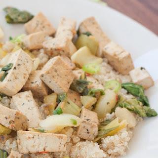 Tofu and Bok Choy Stir-Fry