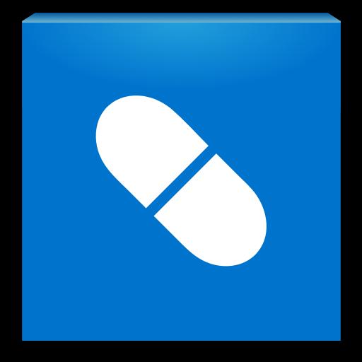 Mediately Databáze léčiv LOGO-APP點子