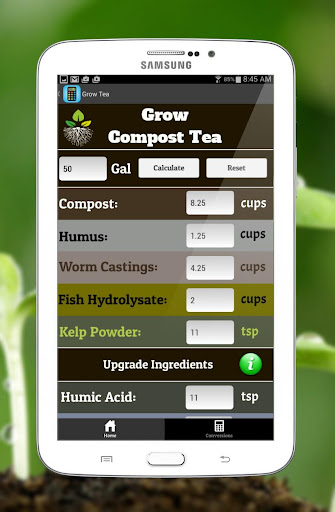 【免費生活App】Compost Tea Calculator-APP點子