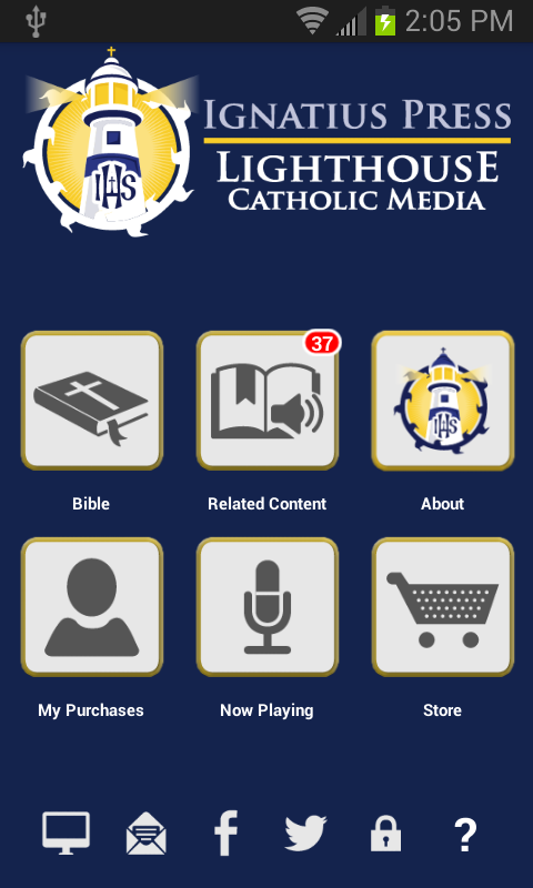 Catholic Study Bible App - screenshot