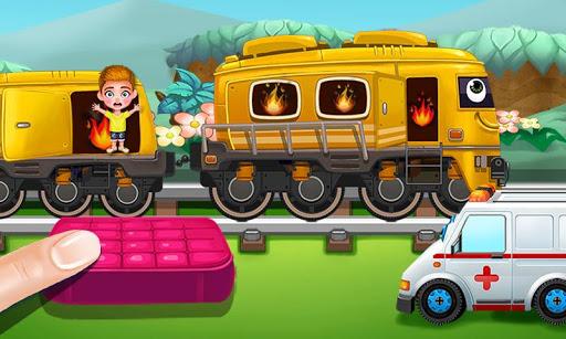 Fire Train! Babies Adventure 1.1 screenshots 2