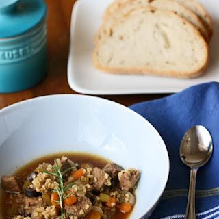 Beef Bulgur Soup