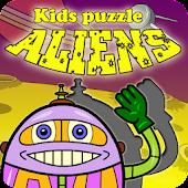 Kids Puzzle - Aliens
