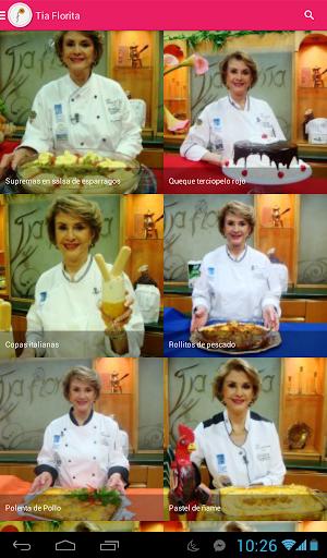 Tia Florita Recetas de Cocina