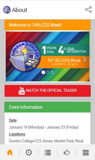 GC-CCS Week 2015
