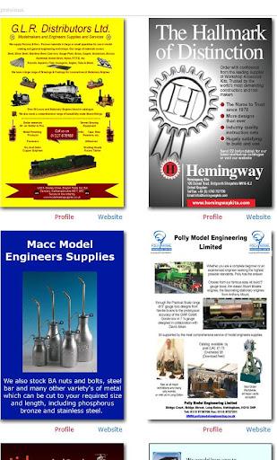 Model Engineering Sellers