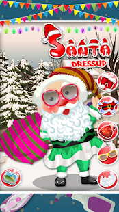 Santa Dressup - Kids Game- screenshot thumbnail