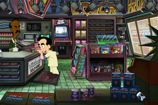 Leisure Suit Larry: Reloaded - 80s and 90s games!  screenshots 2