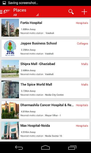 Delhi-NCR Metro  screenshots 5