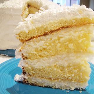 Grandma Stevens's Coconut Cake