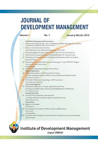 Journal Development Management