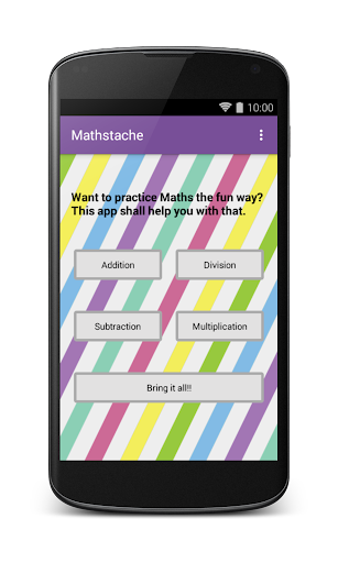 Mathstache: Practice Math