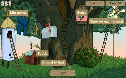 Hidden Animals FREE 2+ 1.2.5 screenshots 5