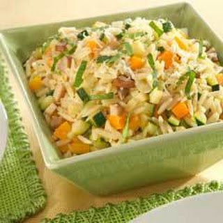 Orzo & Vegetable Pilaf.