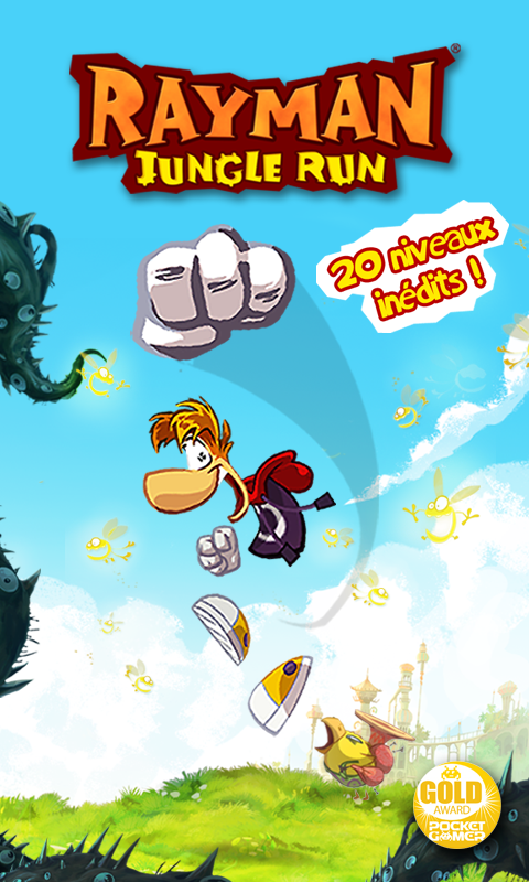 Rayman Jungle Run – Capture d'écran