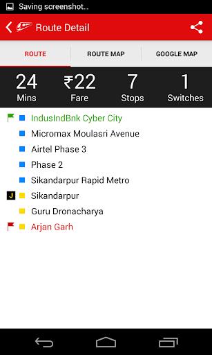 Delhi-NCR Metro  screenshots 8