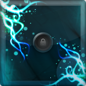 Blue Abstract Go Locker
