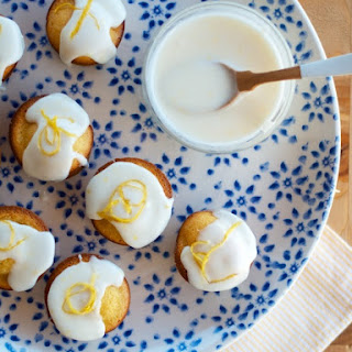 Almond & Lemon Baby Cakes.