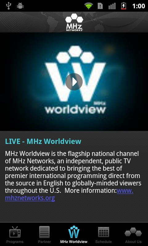 MHz Networks - screenshot