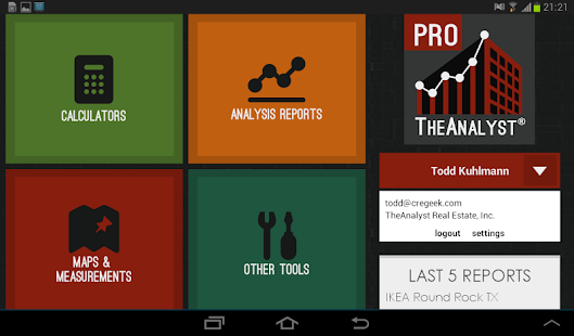 TheAnalyst® PRO- screenshot thumbnail