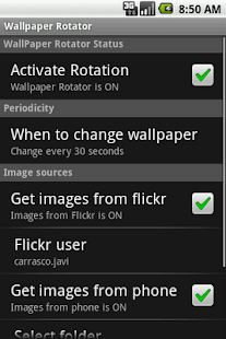 WallPaper Rotator - screenshot thumbnail
