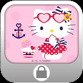 Hello Kitty Summer Screen Lock