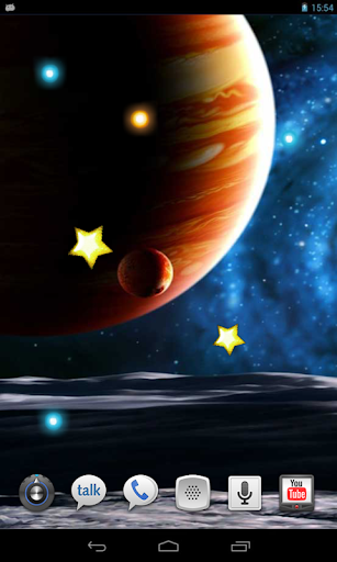 Space Sistems live wallpaper
