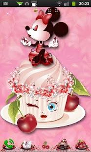 Minnie Cake of Cherry