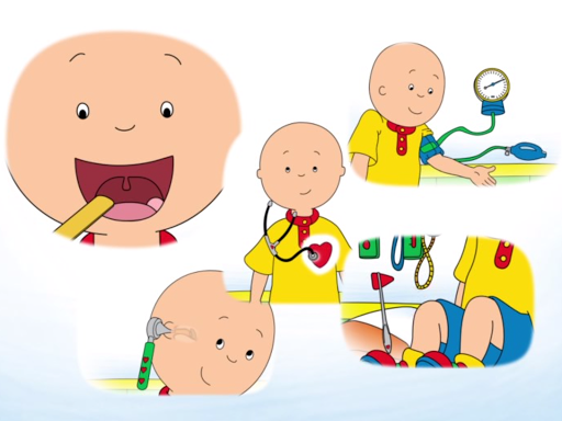 Caillou Check Up - Doctor  screenshots EasyGameCheats.pro 2
