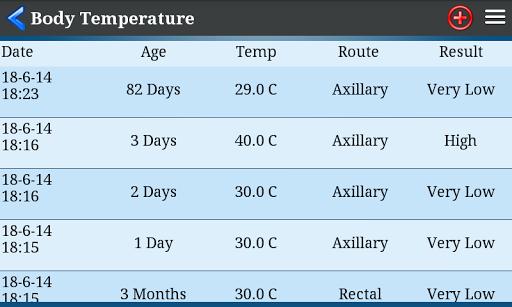 Body Temperature  screenshots 3