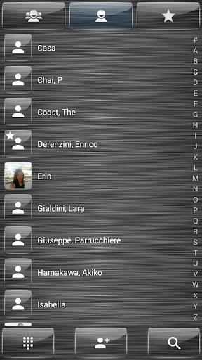 免費個人化App Dialer theme Brushed Glass 阿達玩APP