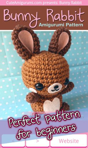 Bunny Rabbit Crochet Pattern