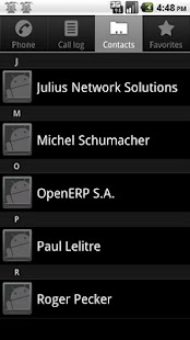 Open ERP Contacts - screenshot thumbnail
