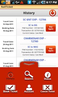 RailTicket Lite - screenshot thumbnail